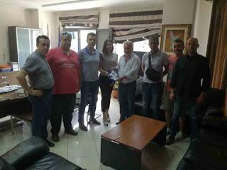 Συνάντηση του δημάρχου Ηγουμενίτσας με το νέο ΔΣ της Τοπικής Διεύθυνσης Θεσπρωτίας της Διεθνούς Ένωσης Αστυνομικών