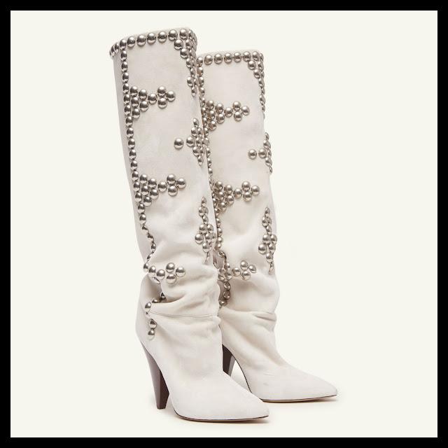 Cone Heel Boots Trend