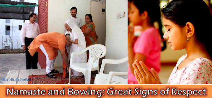 Namaste and Bowing: Great Signs of Respect