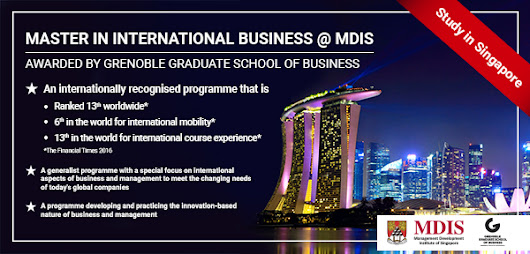 Get Ready to do Master Degree Program in MDIS Singapore