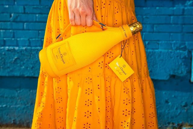 Veuve Clicquot orange