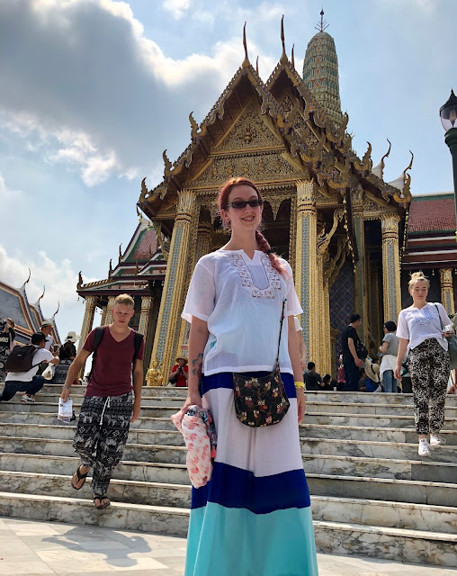 Proper attire for the Grand Palace Bangkok