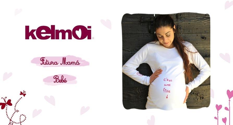 b1b3e61c6 Camisetas y bodies para bebes y ropa para futuras mamas de Kelmoi