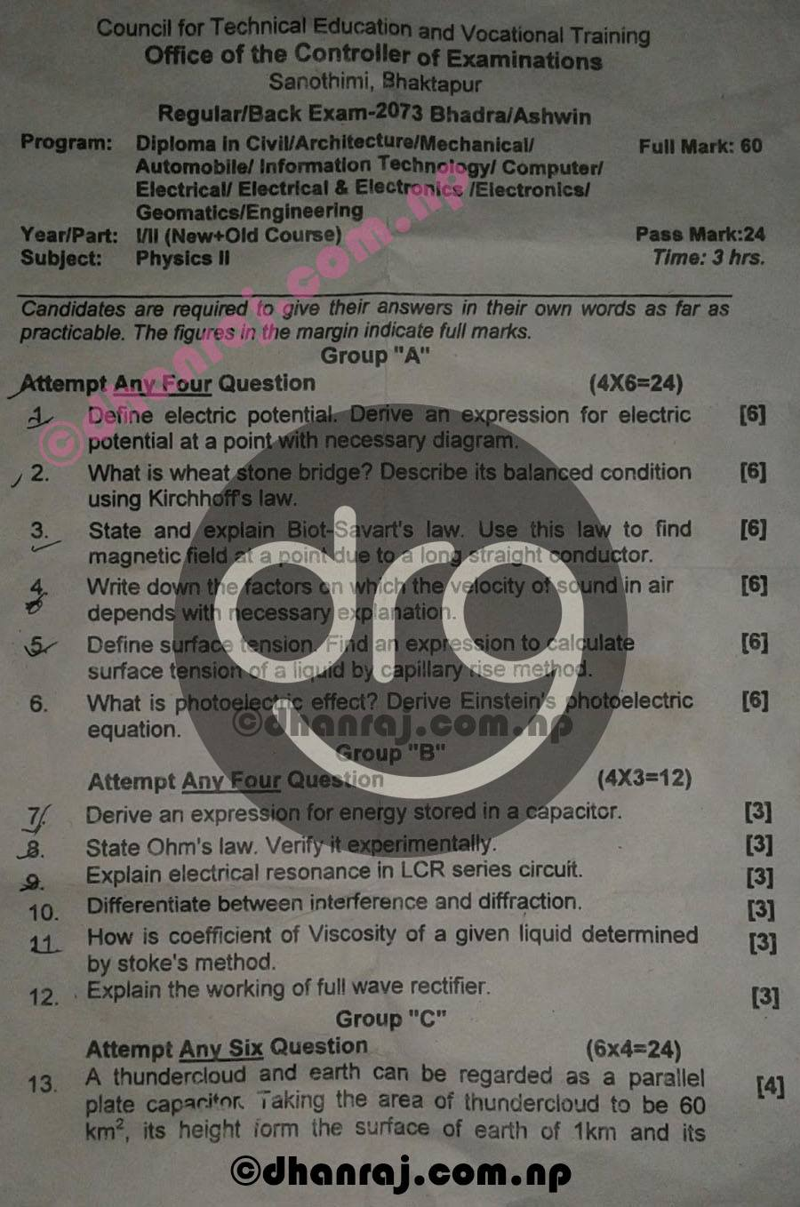 Engineering-Physics-II-Question-Paper-2073-CTEVT-Diploma-1st-Year-2nd-Part