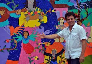 Artista plástico guarabirense expõe obras em leilão e fará doação ao Laureano