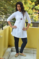 Kiran Chetwani in Denim and White Kurti  Exclusive 031.JPG