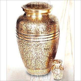 Classic Brass Urn