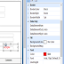 How to select behind control in sql report builder