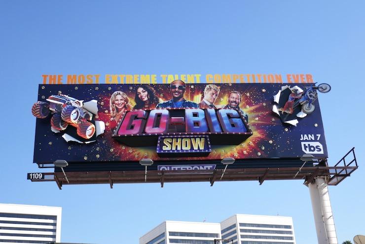 Go-Big Show TV series billboard