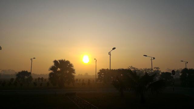 gerhana matahari separa 09 Feb 2016