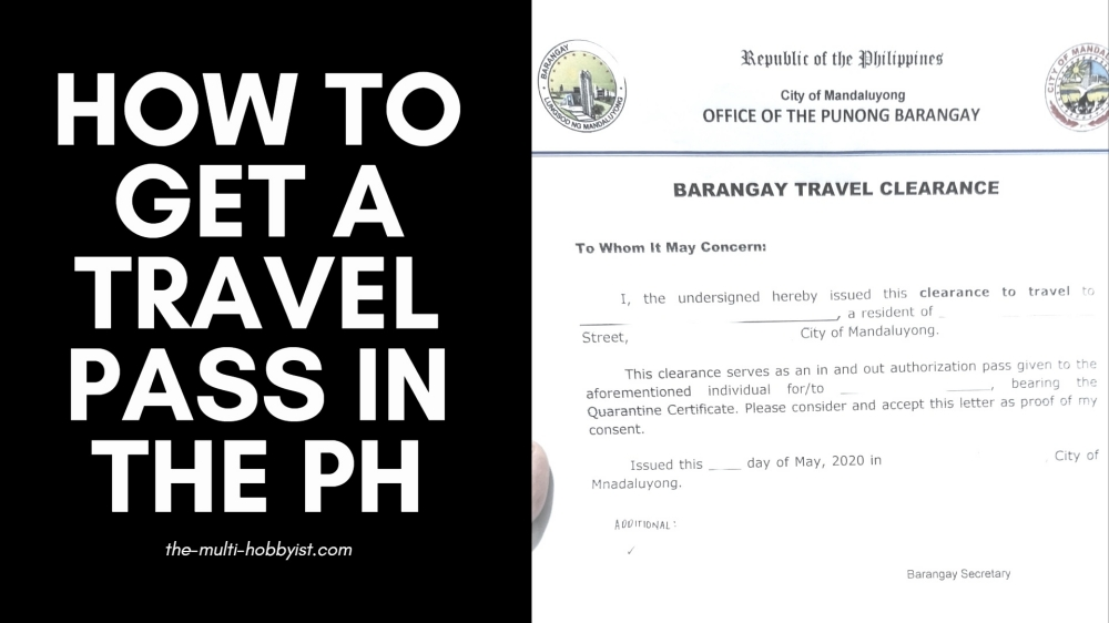 How To Get A Travel Pass for Locally Stranded Individuals in the Philippines During Quarantine