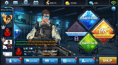 Mỗi người chơi sẽ sở hữu giải pháp nâng đồ khác nhau, vì vậy mà làm nên các nhân vật cùng khả năng không giống ai