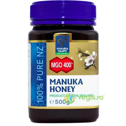 Miere de Manuka (MGO 400+) 500g MANUKA HEALTH