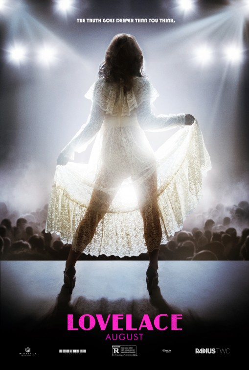 new clip and 3 posters for lovelace starring amanda