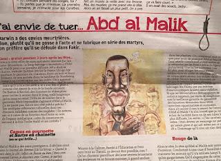 Abd al Malik dans Fakir ! Je poste le scan demain pour une meilleure visibilité. ©Guillaume Néel