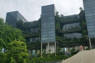 El Hotel Park Royal de Singapur...