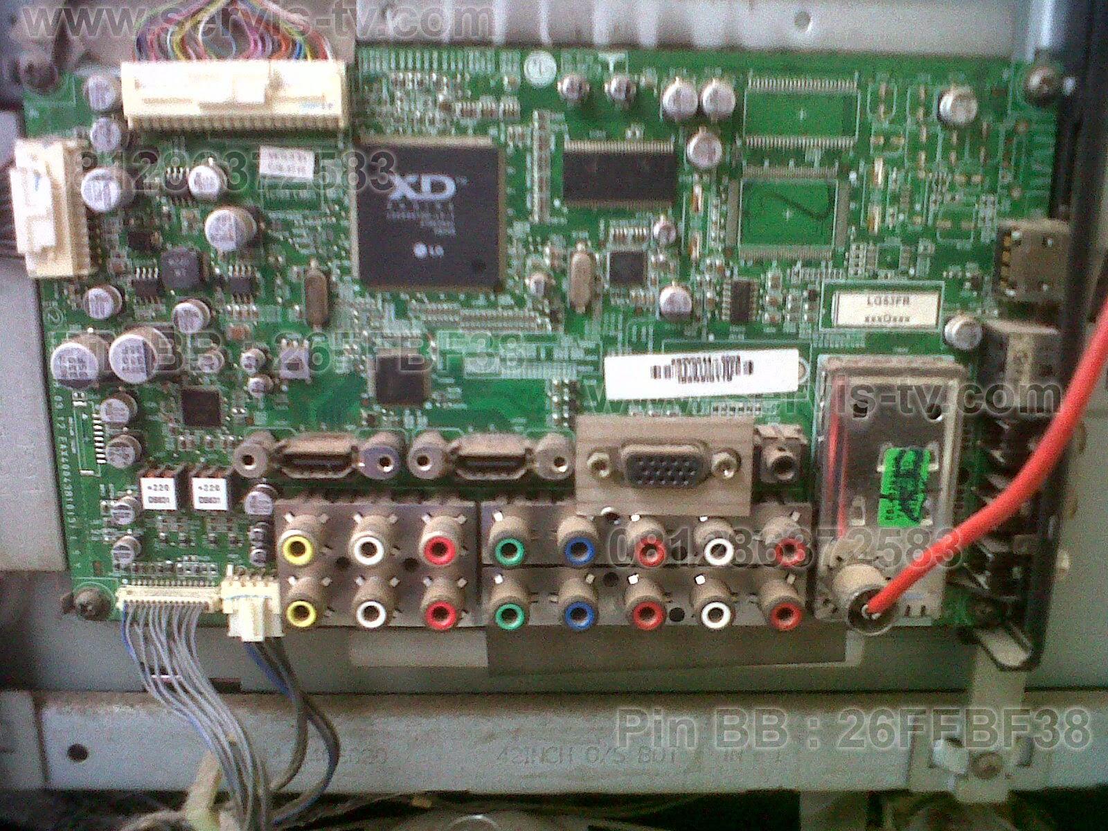 LG Mainboard LCD TV Perbaikan