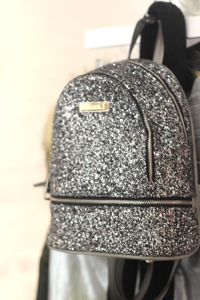 glitter bag uk high street fashion blog