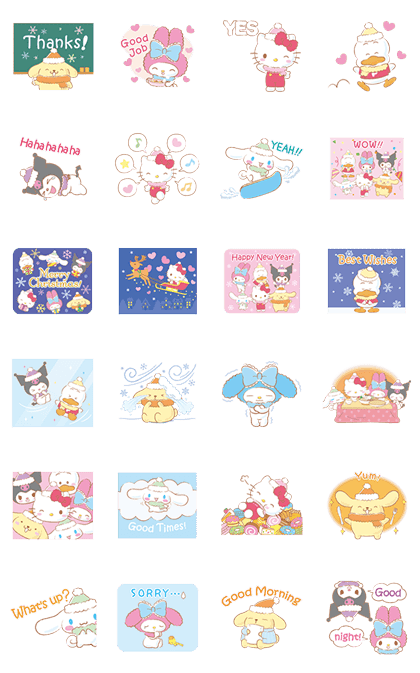SANRIO CHARACTERS (Winter)