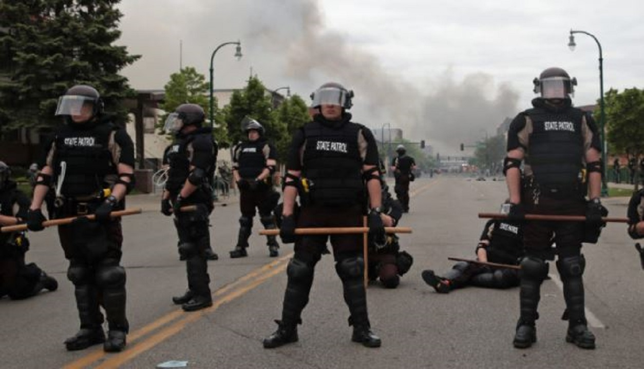 Police again killed a black man in America