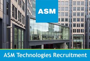 ASM Technologies Recruitment 2018-2019 Job Openings For Freshers