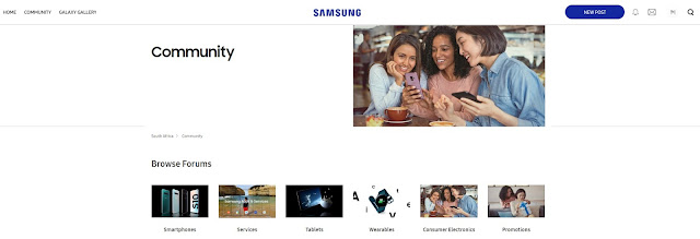 Community Arrives at Samsung Members Platform and website