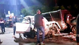 """فاجعة: قتلى وجرحى في حادثة سير خطيرة أثناء تصوير """"كليب"""" جمع """"البيغ"""" بـ""""أمينوكس"""""""