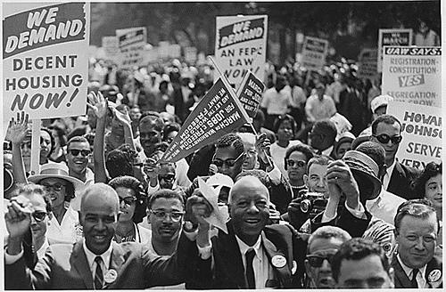 Black power protest