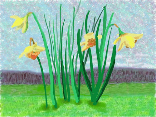 Do remember they can not cancel the spring, Dabid Hockney