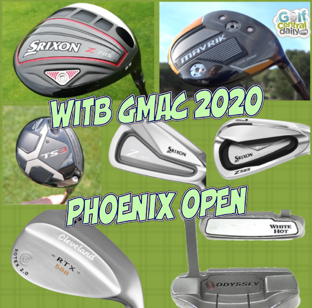 What's In The Bag 2020 GMac GolfCentralDaily