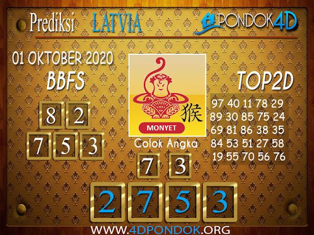 Prediksi Togel LATVIA PONDOK4D 01 OKTOBER 2020