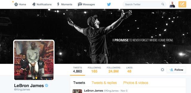 LeBron James, el basketbolista más seguido en las redes sociales