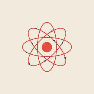 modelo atomico de Rutherdfor electrones en orbitas