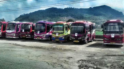 shuttle bus dieng wonosobo