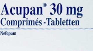 دواء نيفوبام -Nefopam- دواء اكوبان acupan