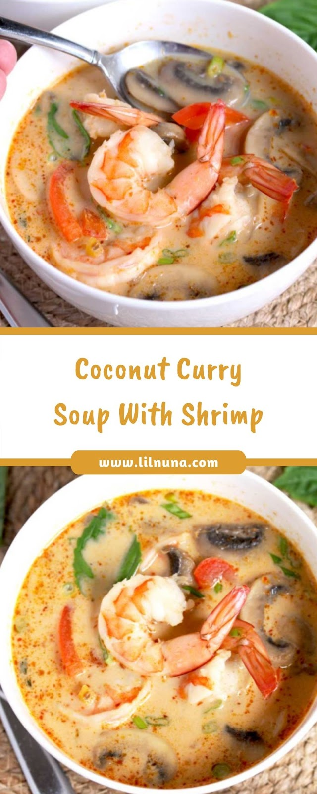 Coconut Curry Soup With Shrimp
