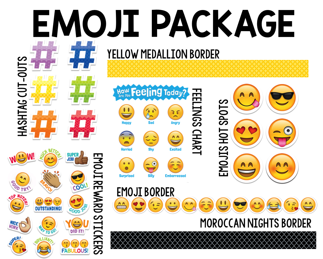 Classroom Decoration Emojis ~ How to emoji fy your classroom with a giveaway cassie