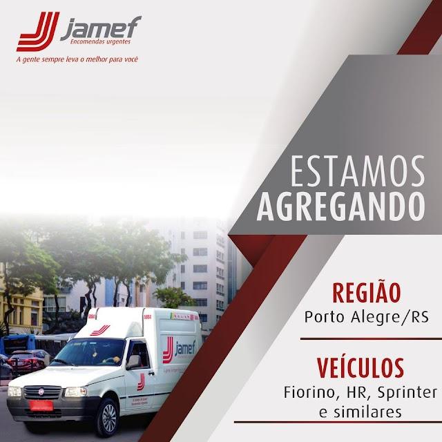 Transportadora Jamef está agregando Fiorino, HR e similares