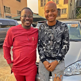 Wow! Kokun Foundation Gave Brand New Car to Yabatech Student and Gokada Rider, Sandra Who was Also Ban in Lagos State See Photos