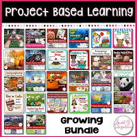 project based learning growing bundle cover