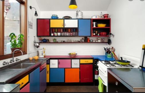 Warna Cat dinding Dapur Yang Unik