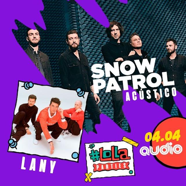 Snow Patrol e LANY lotam a Audio e fazem shows memoráveis