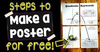 steps to make a poster for free