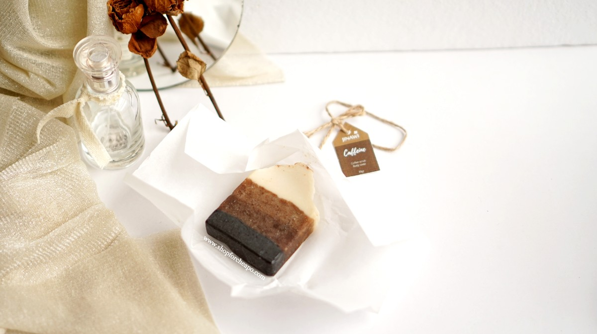 Review Jinawi Caffeine Nature Based Soap Bar
