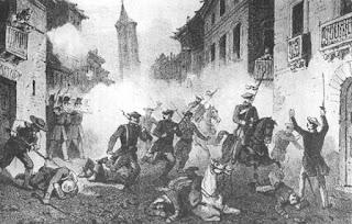 Los asaltos carlistas a los pueblos eran temibles