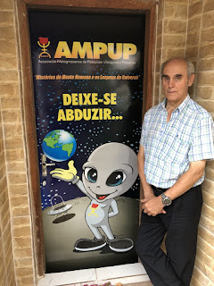 Luis Aparicio na sede da AMPUP