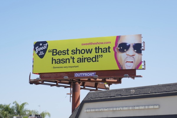 Sweet The Show billboard