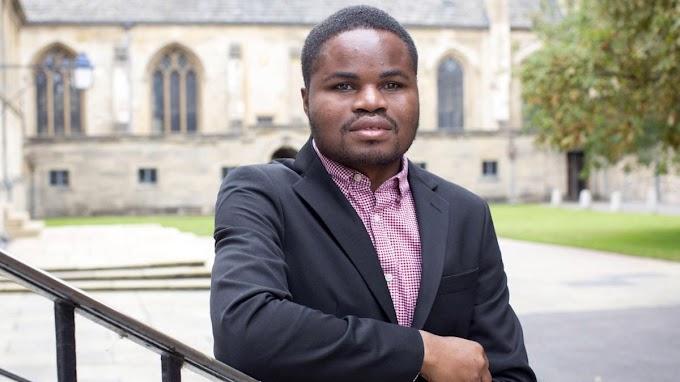 Ghanaian Visually Impaired, Ebenezer Azamati Elected President Of Oxford University Africa Society