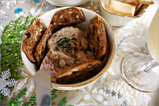 Paté de Cerdo en Nuestra Cena de Noche Buena en Boston