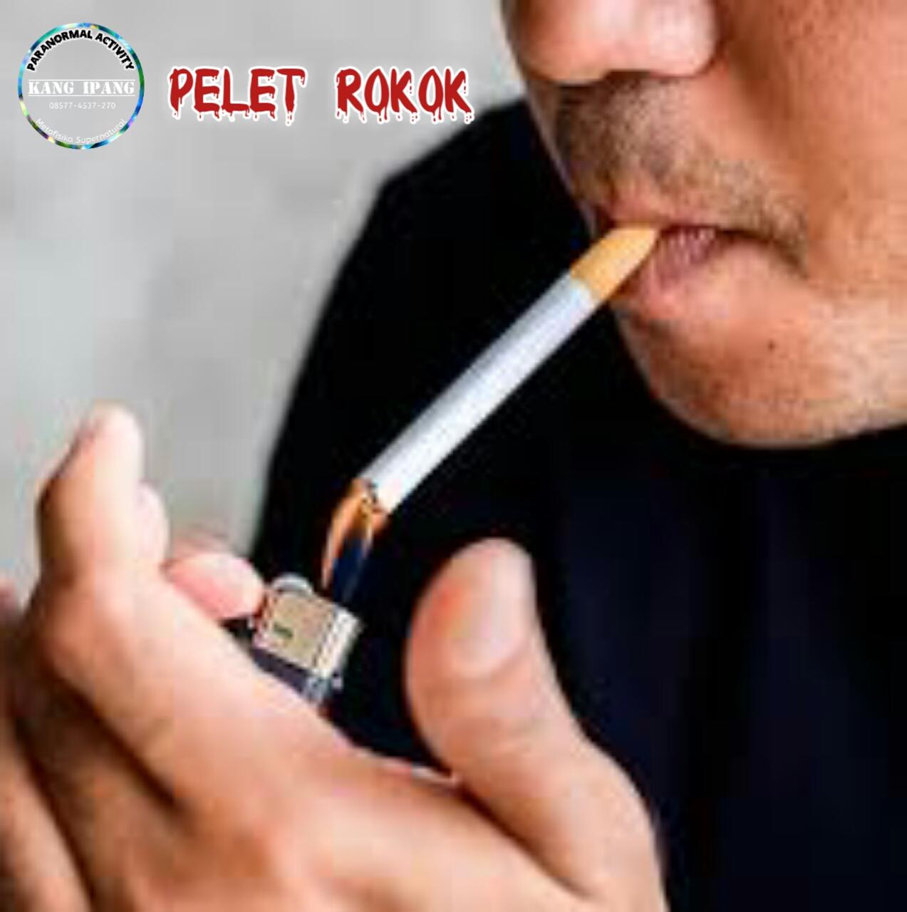 Sajian pelet ampuh media rokok